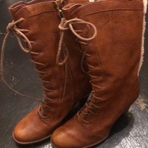 Lace Up Ugg Boots